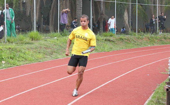 Claudemir dos Santos atleta